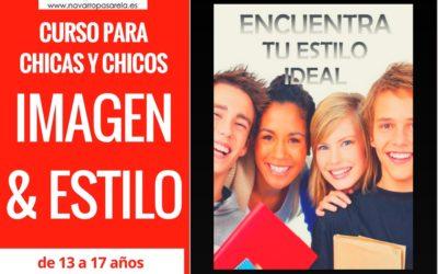 Hoy comenzamos! CURSO IMAGEN & ESTILO JÓVENES DE 13 A 17 AÑOS