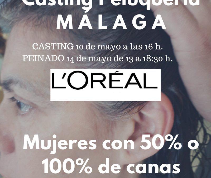 CERRADO — CASTING PELUQUERÍA en MÁLAGA – Mujeres con Canas en Raíz