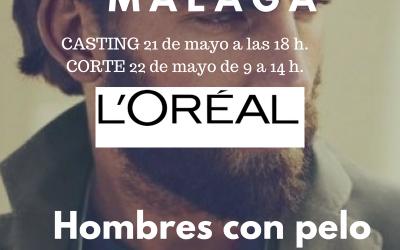 CASTING PELUQUERÍA MÁLAGA–Hombres cabello medio/largo y barba