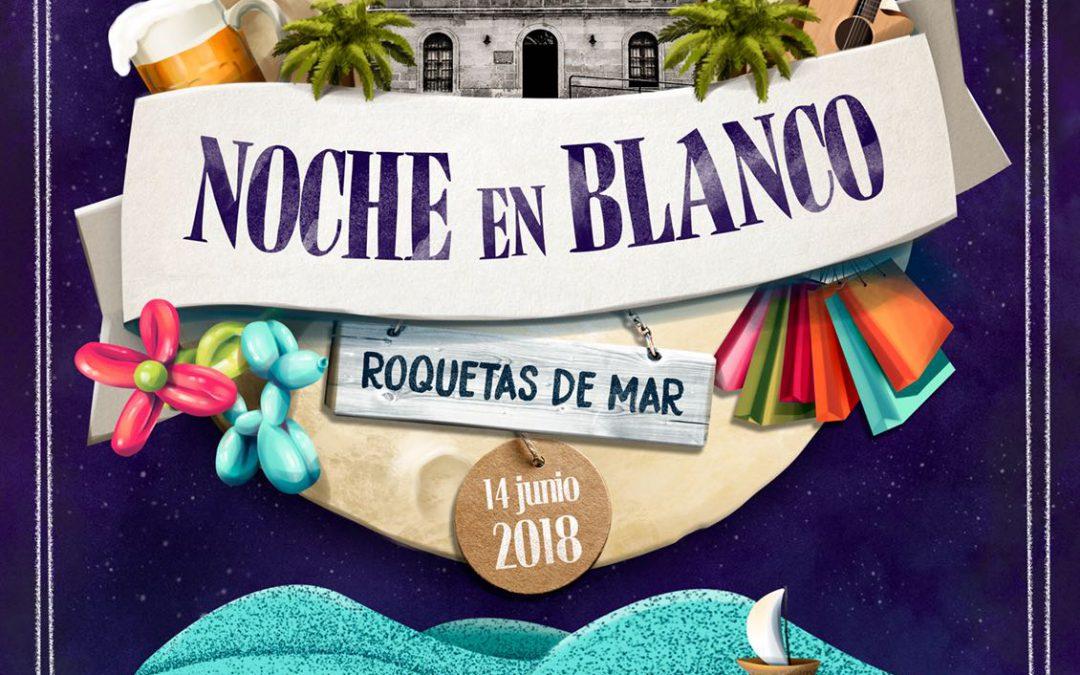 PASARELA NOCHE en BLANCO ROQUETAS de MAR | 21:30 H. Plaza Constitución
