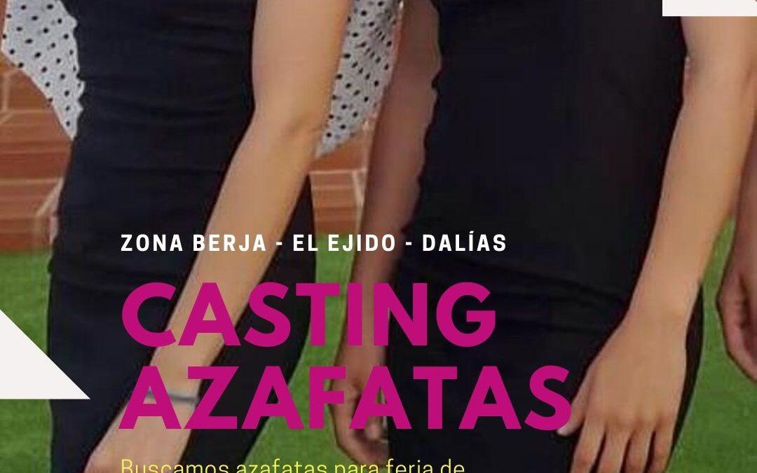 CERRADO — CASTING azafatas para feria de muestras (Zona Berja, El Ejido, Dalías)