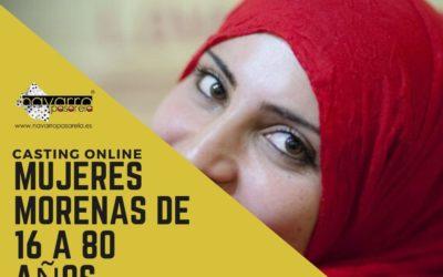 CERRADO — CASTING online MUJERES de 16 a 80 años. Perfil árabe o que lo parezcan