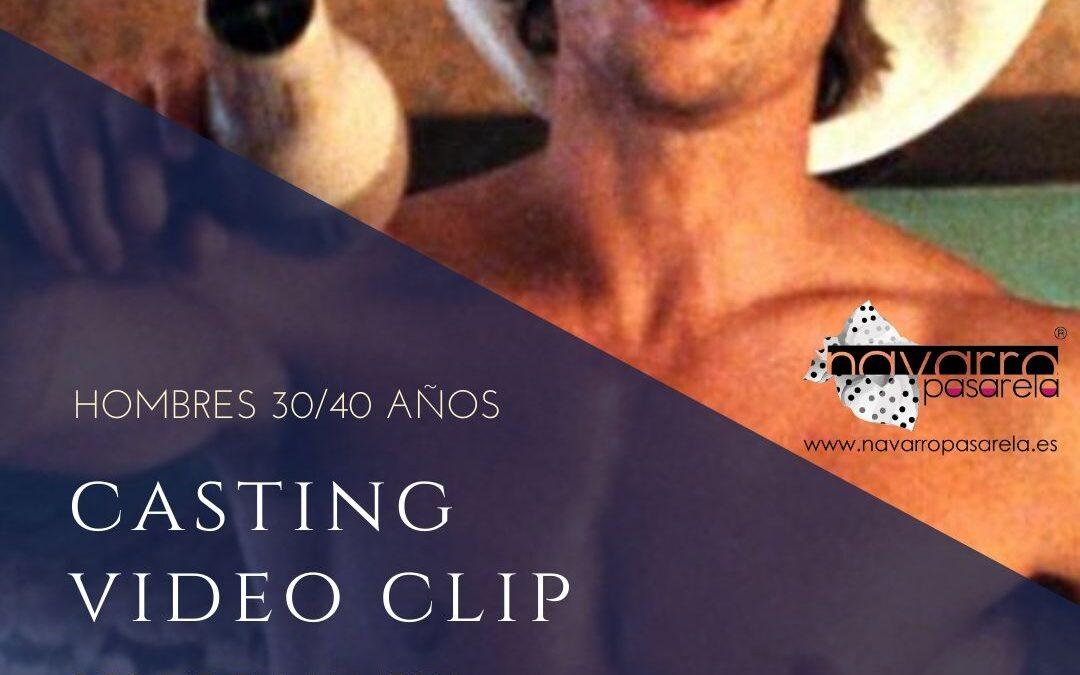 CERRADO — CASTING Hombre/Modelo 30/40 años muy buen físico