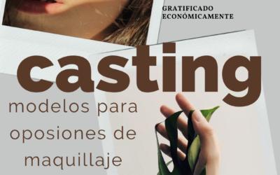 CERRADO — CASTING Modelos para examen Oposiciones Maquillaje