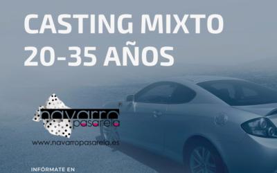 CERRADO — CASTING ONLINE MIXTO 20-35 AÑOS – Rodaje Almería y Madrid